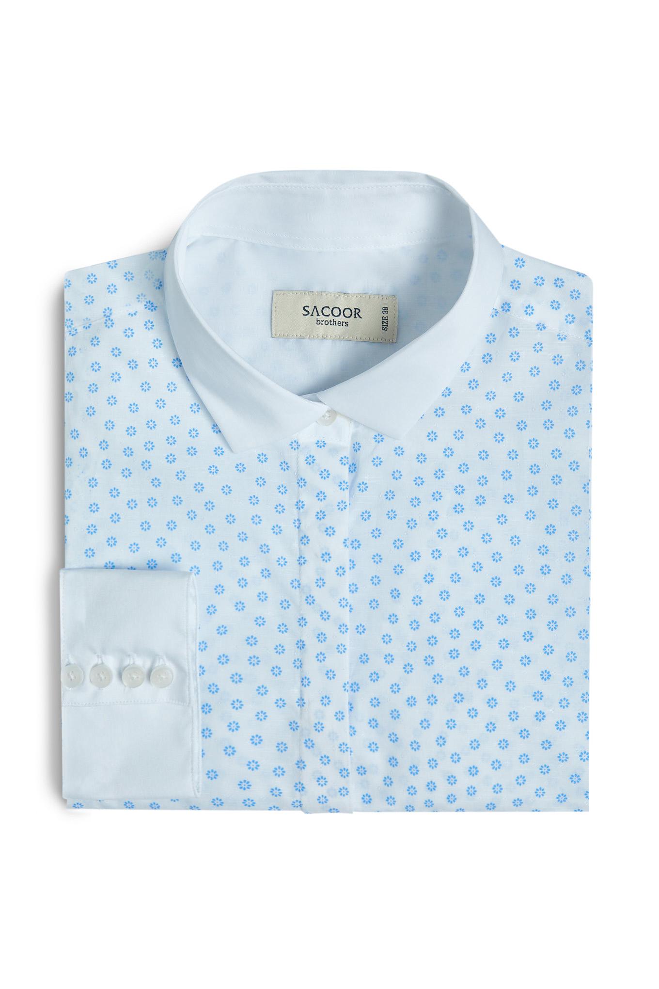 Shirt Print Formal Woman