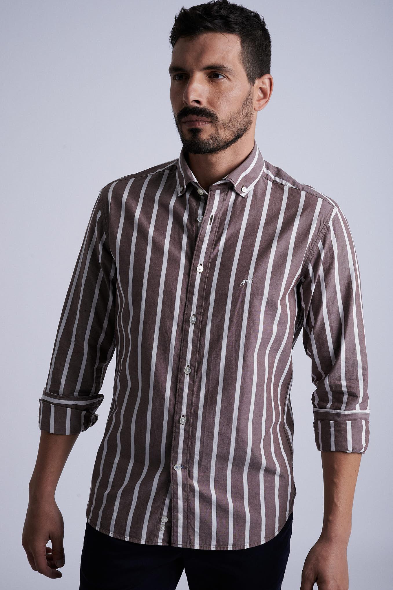 Shirt Chocolate Sport Man