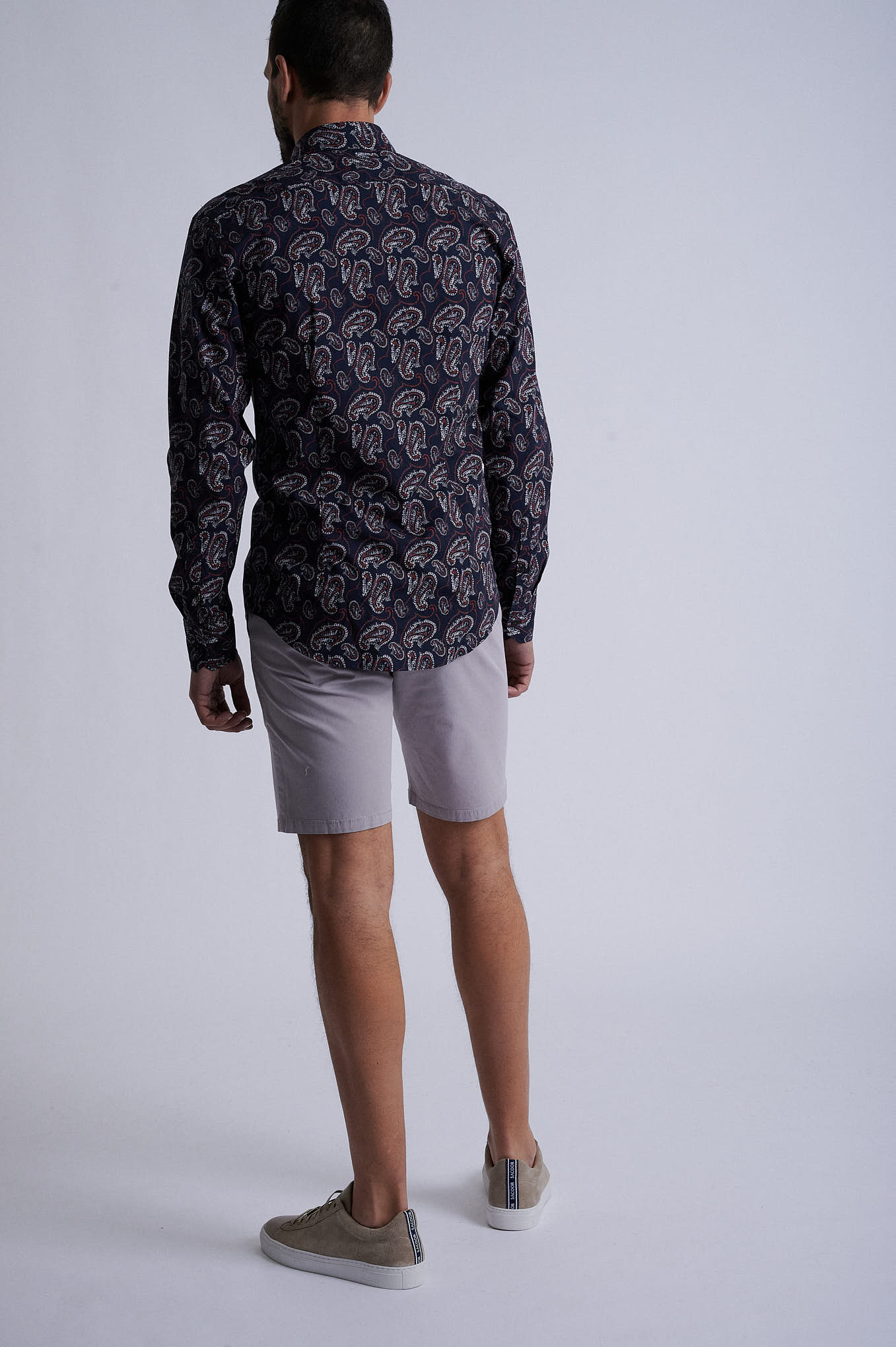 Bermuda Light Grey Sport Man