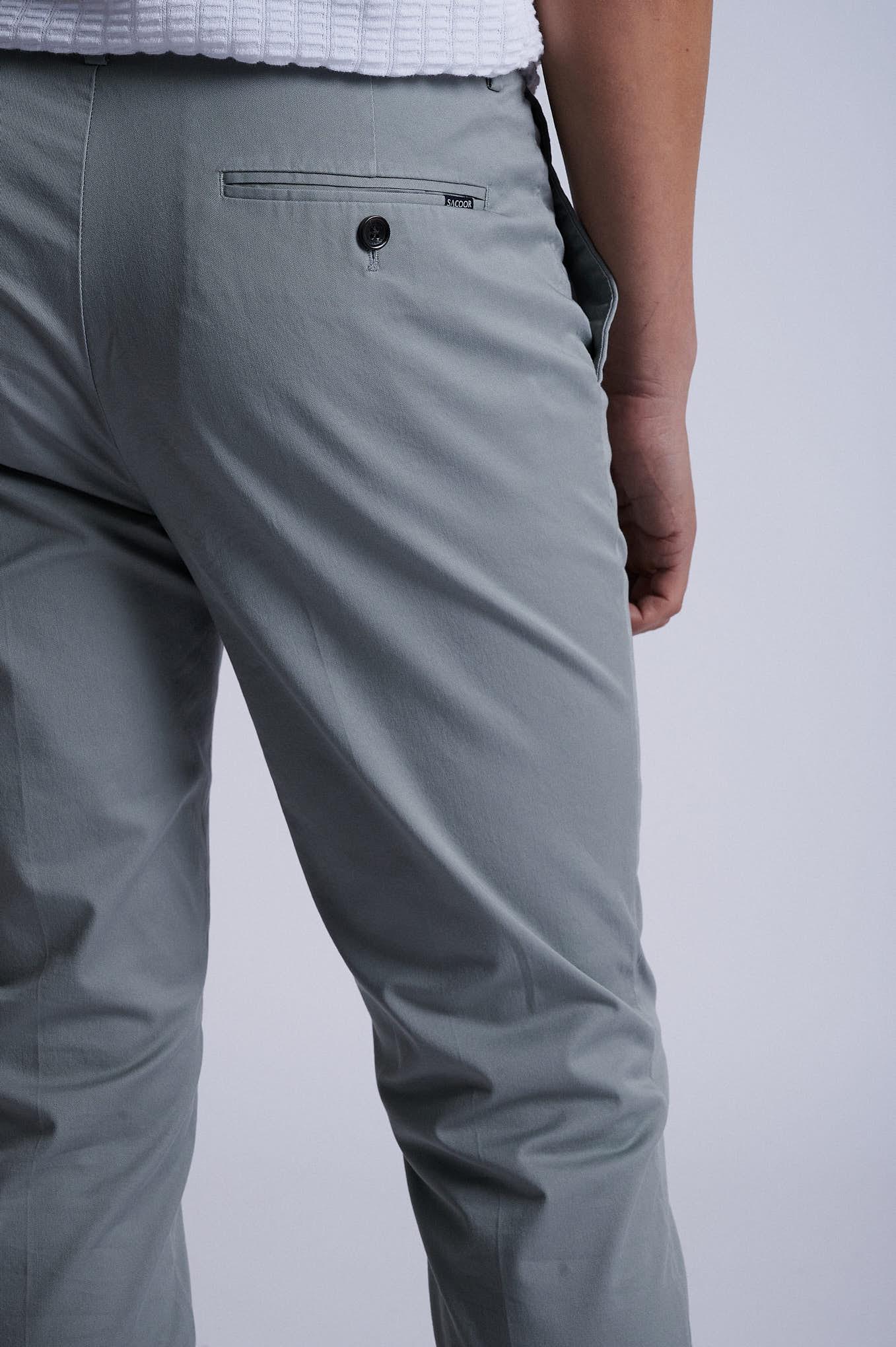 Chino Trousers Khaki Sport Man