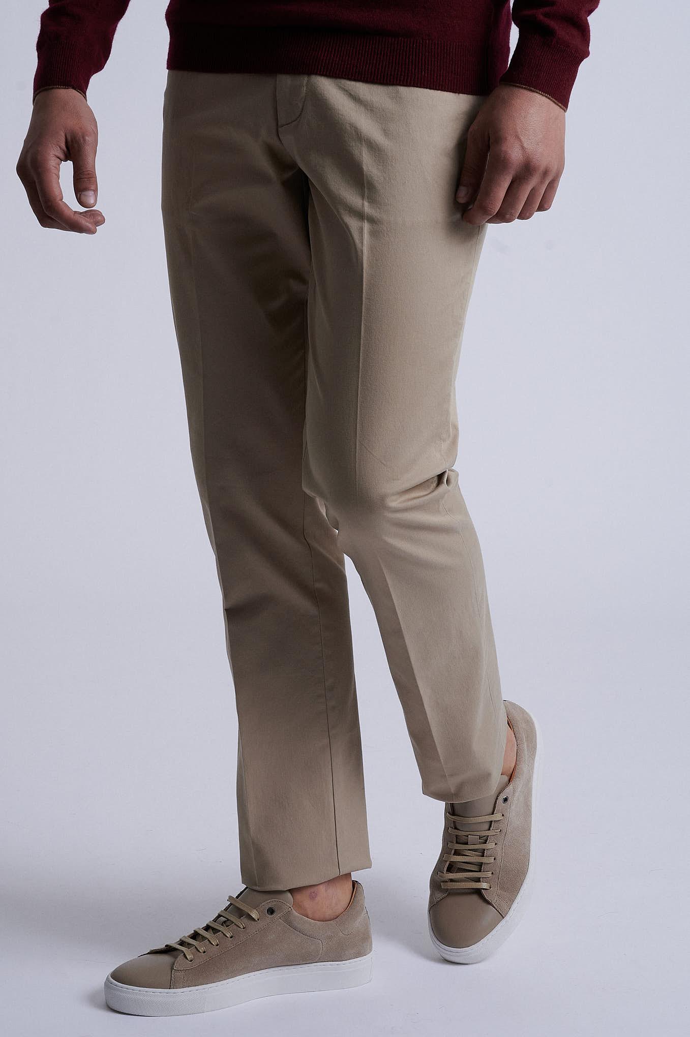 Chino Trousers Beige Sport Man