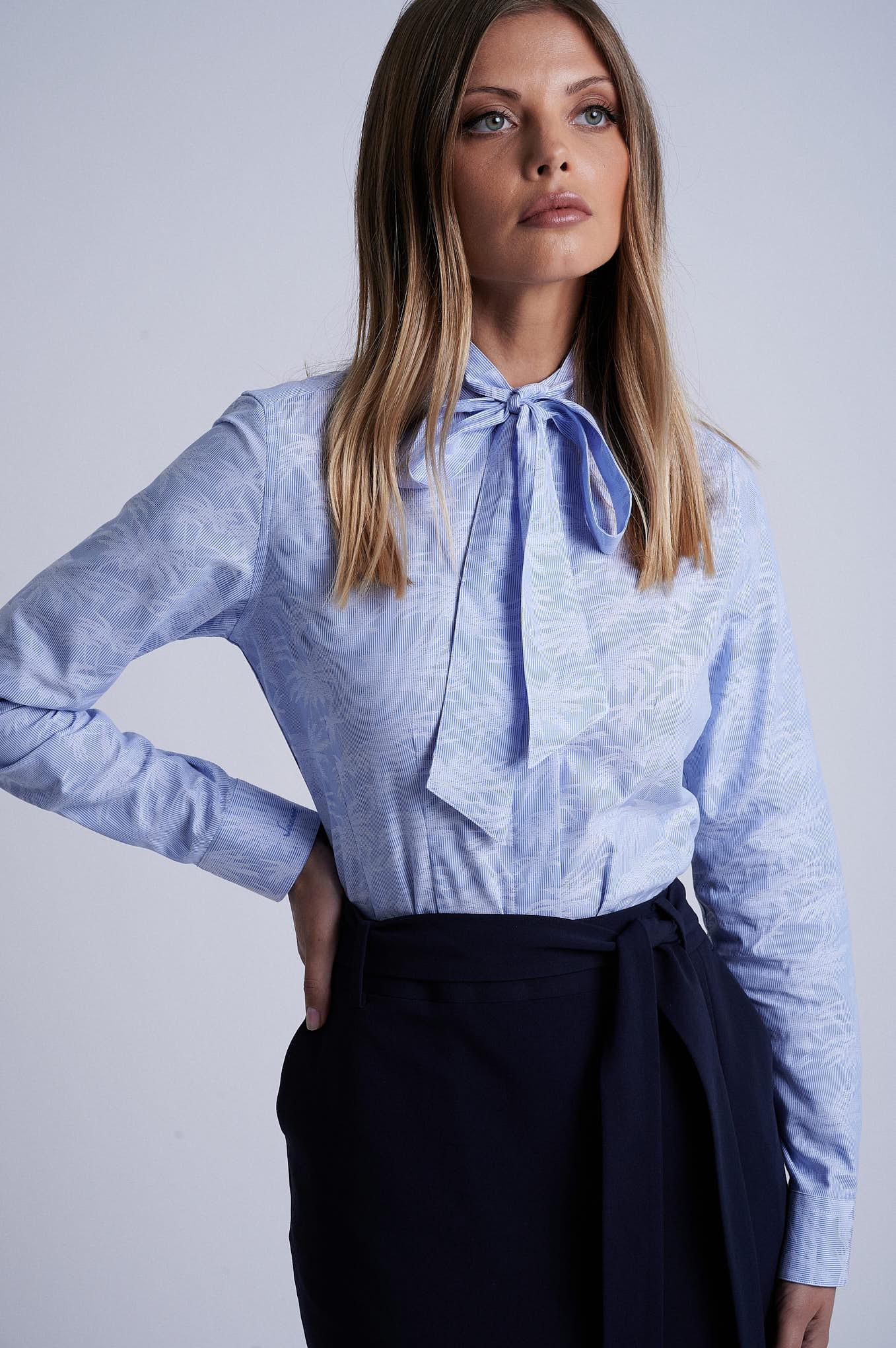 Skirt Dark Blue Formal Woman