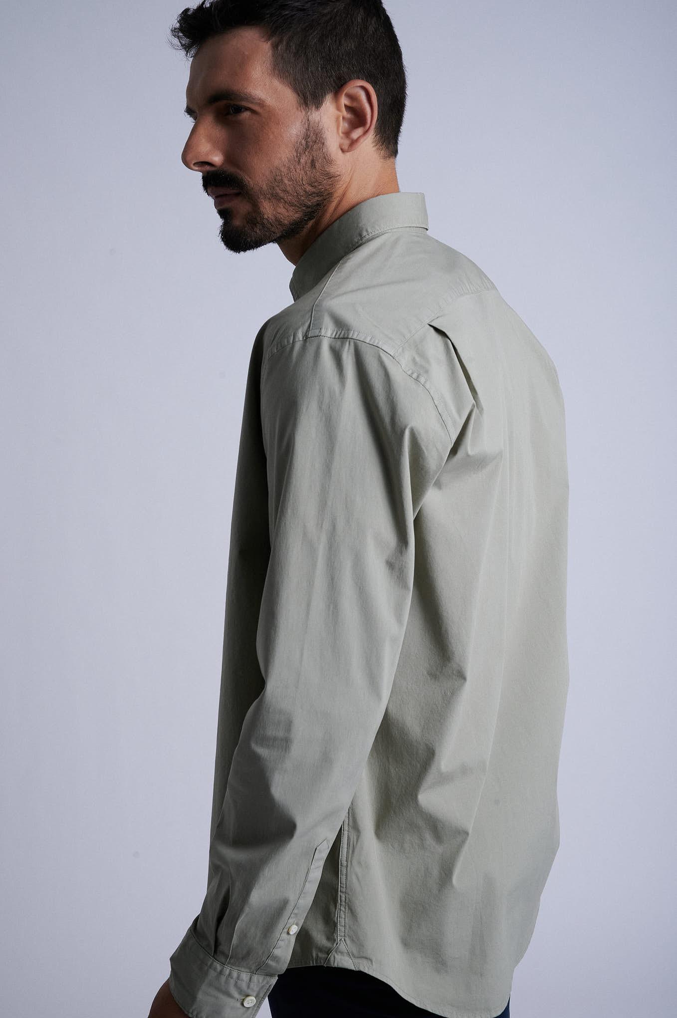 Camisa Khaki Sport Homem