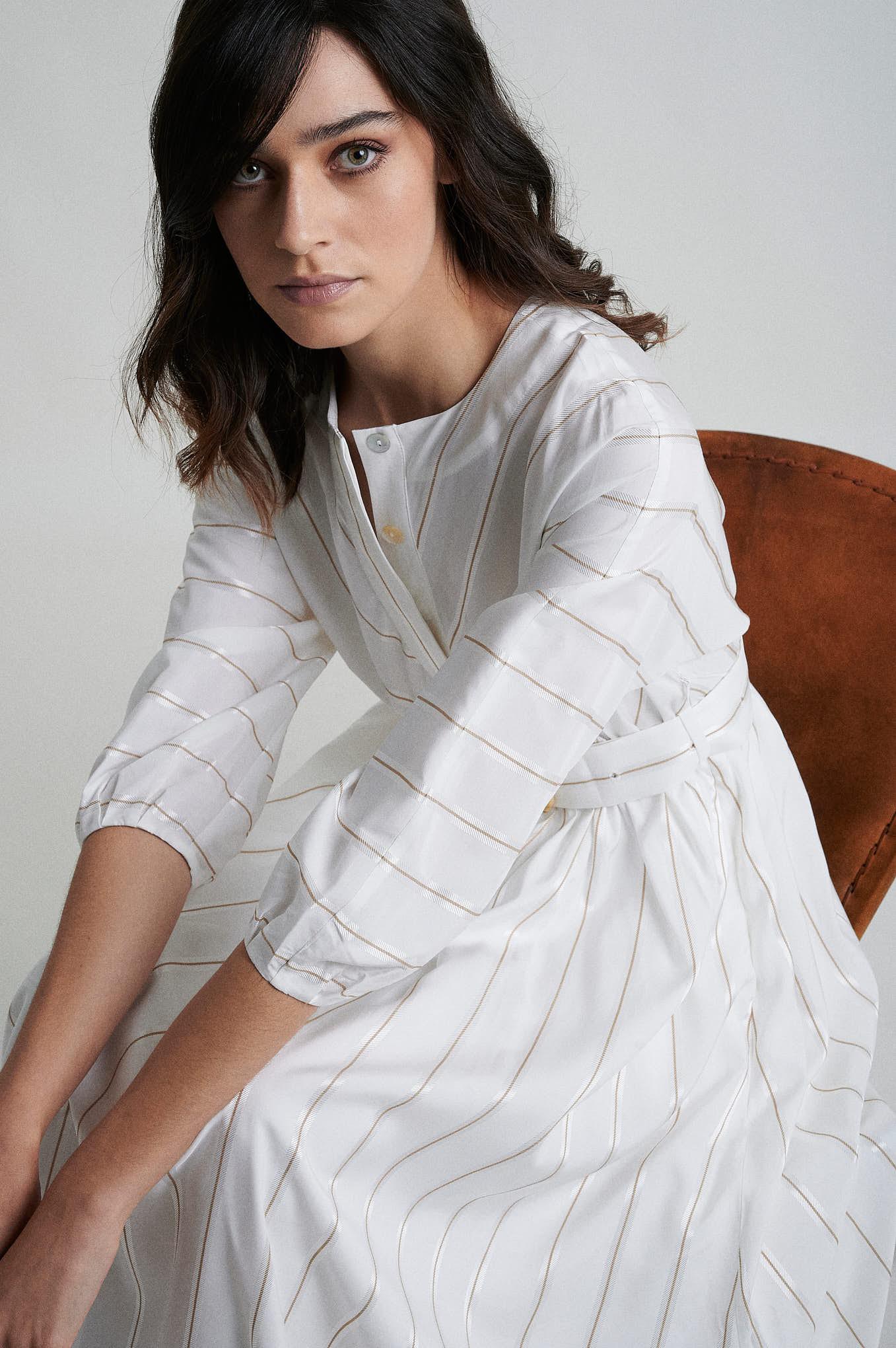 Dress Stripes Fantasy Woman