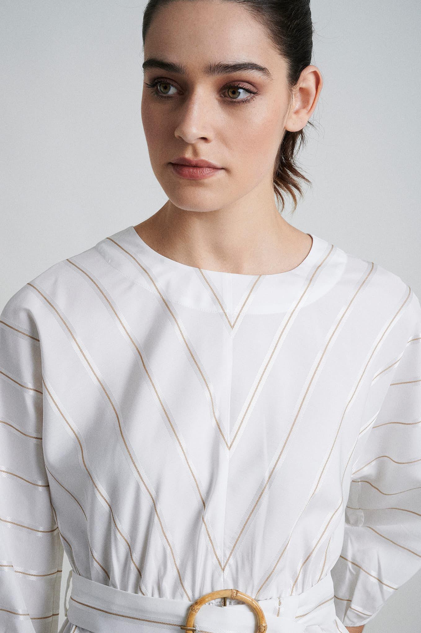 Blouse Stripes Fantasy Woman
