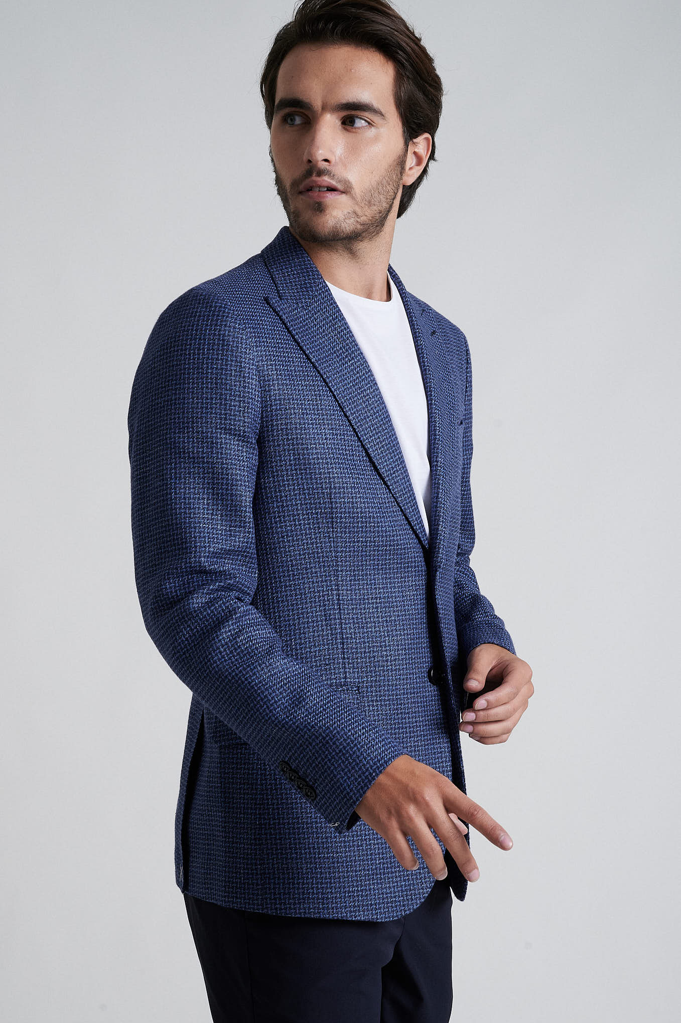 Blazer Blue Formal Man