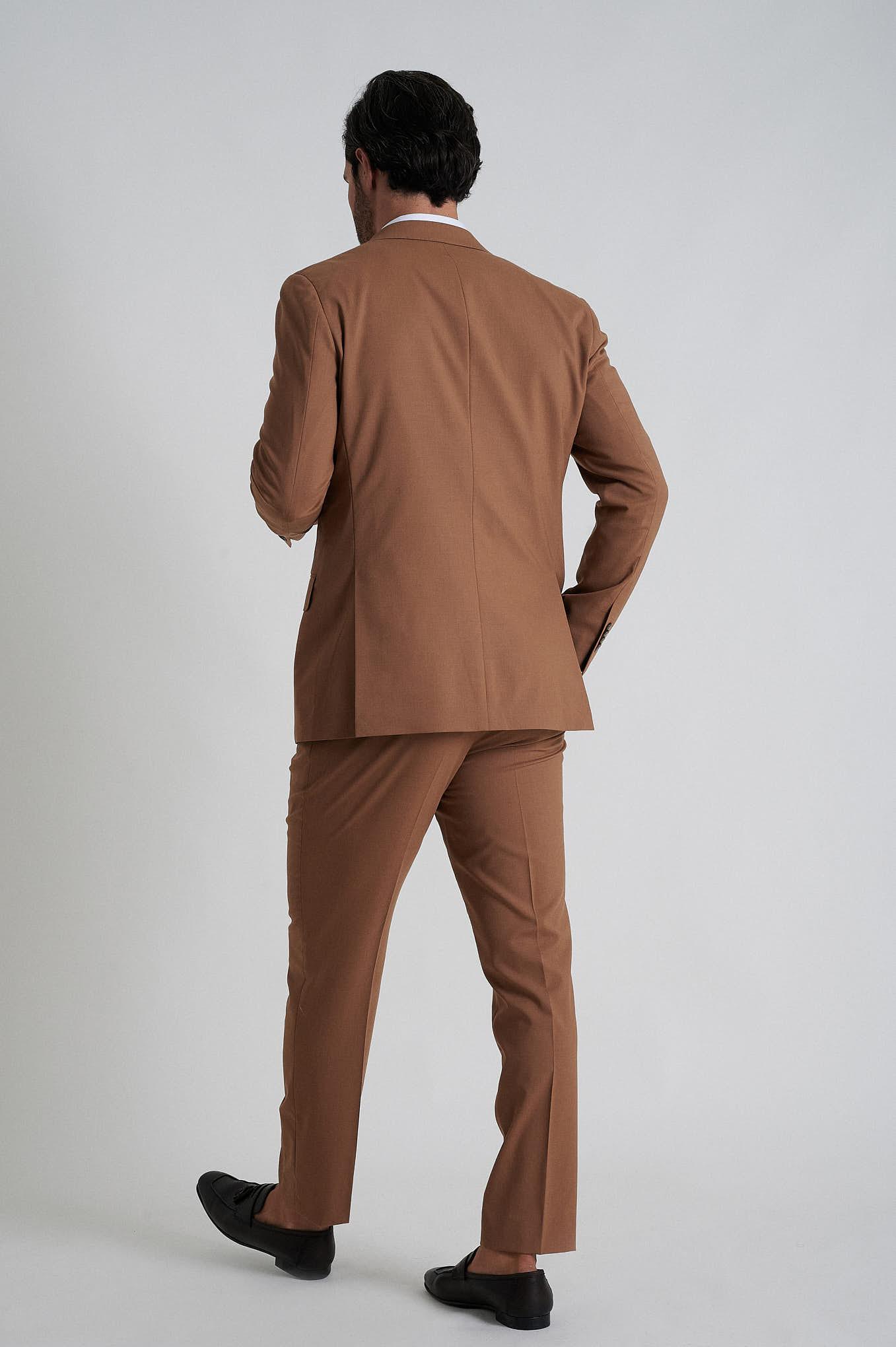 Fato Camel Formal Homem