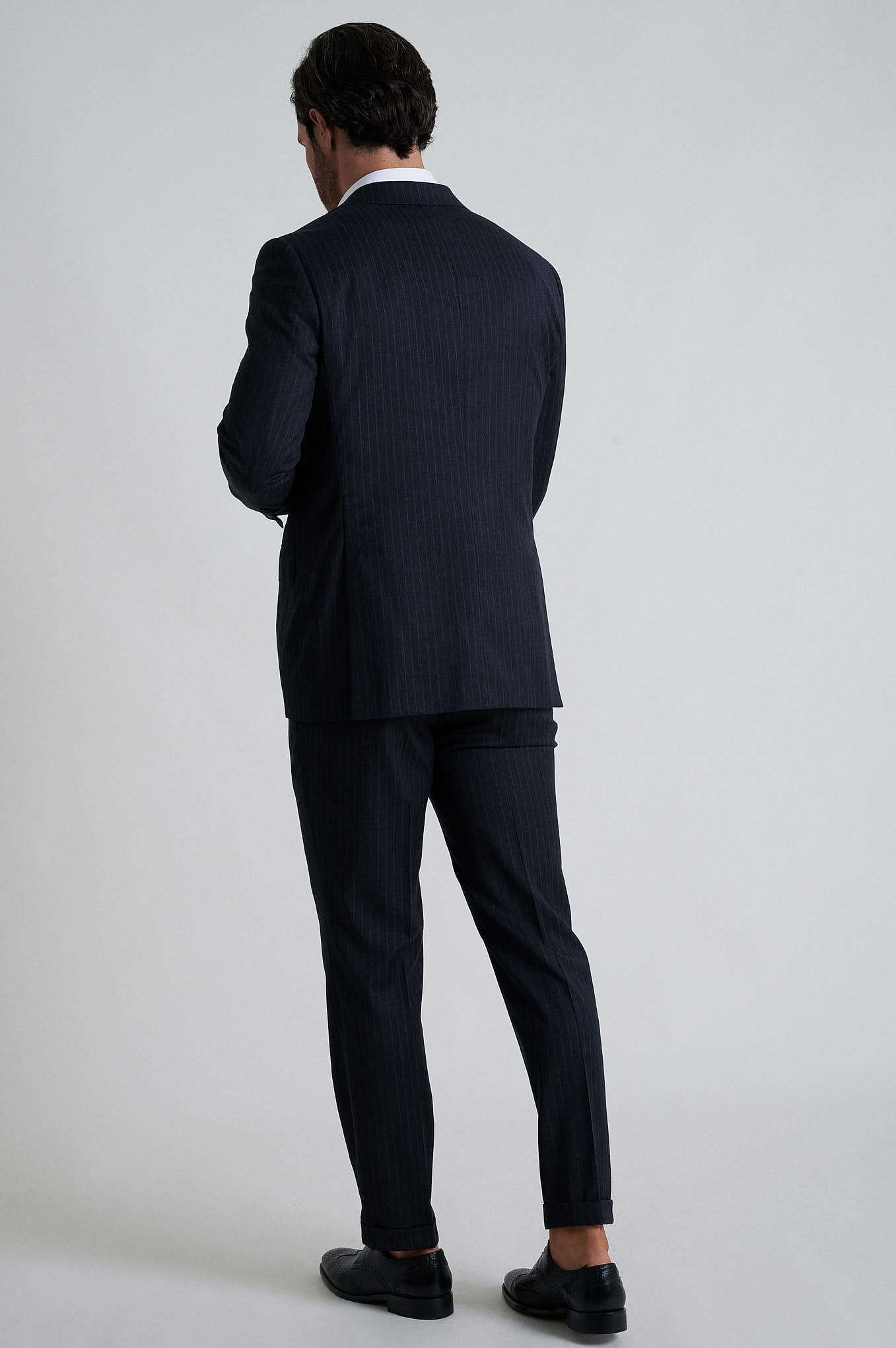 Fato com Colete Cinzento Escuro Formal Homem