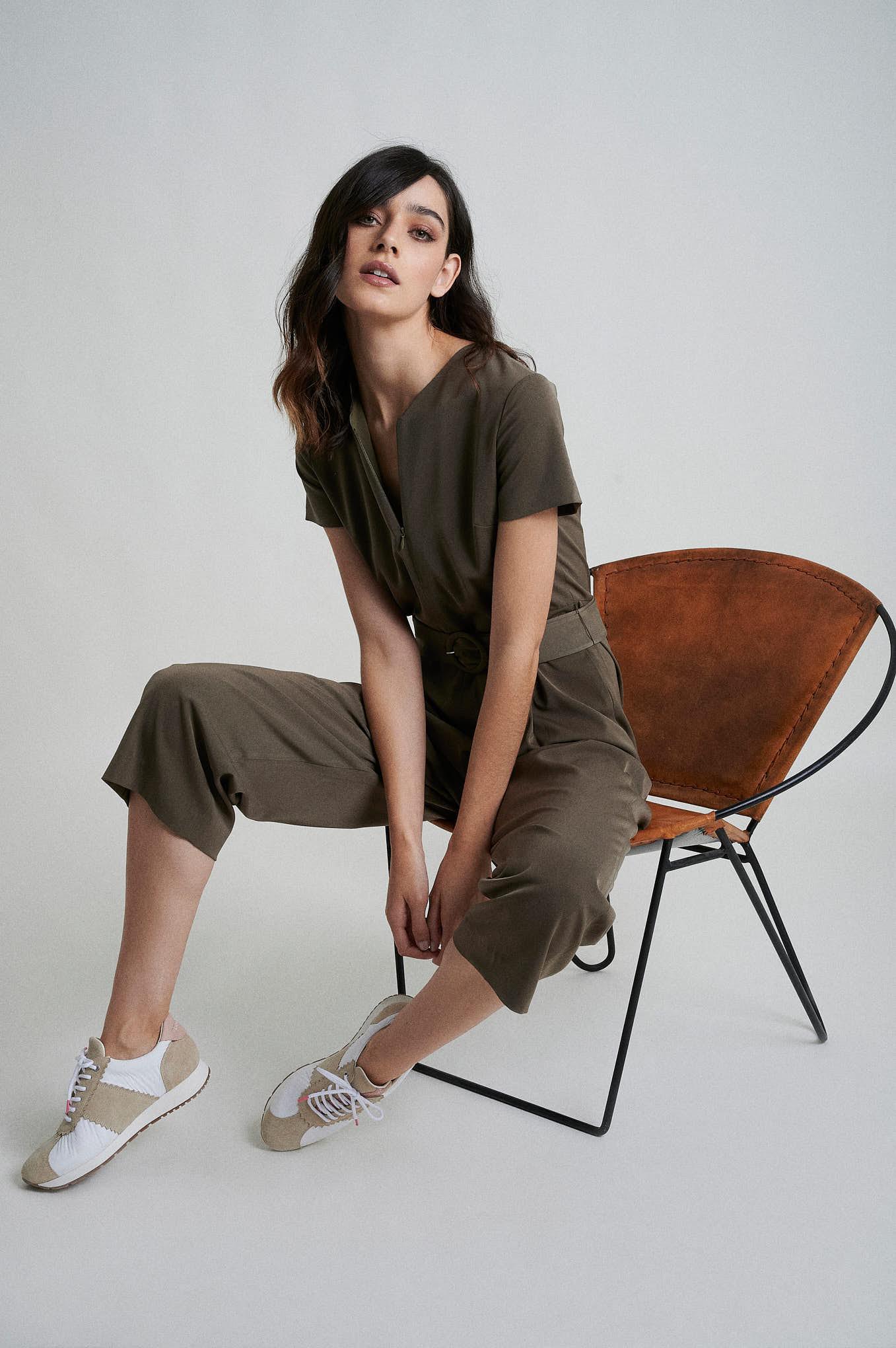 Jumpsuit Khaki Fantasy Woman