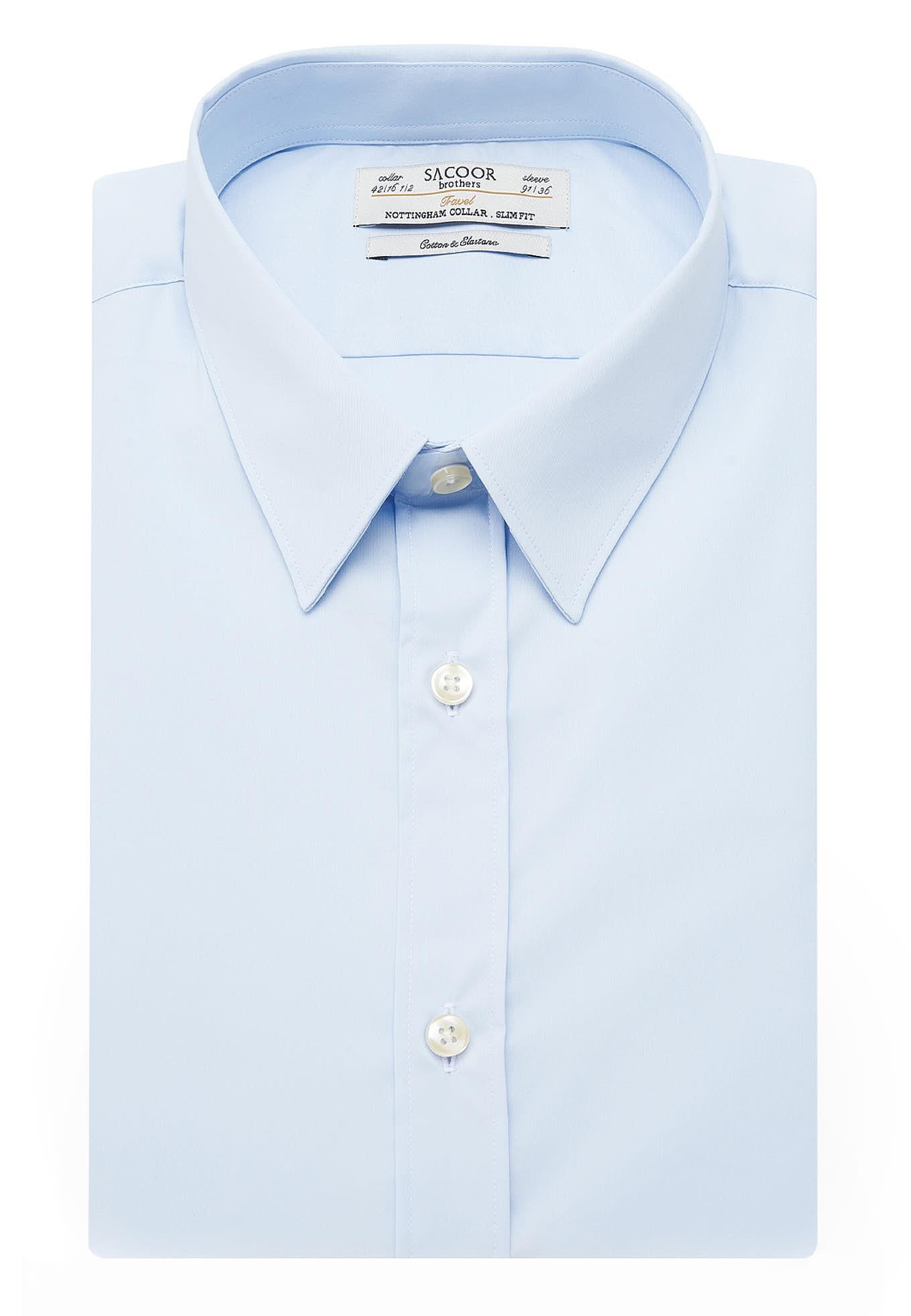Shirt Light Blue Formal Man