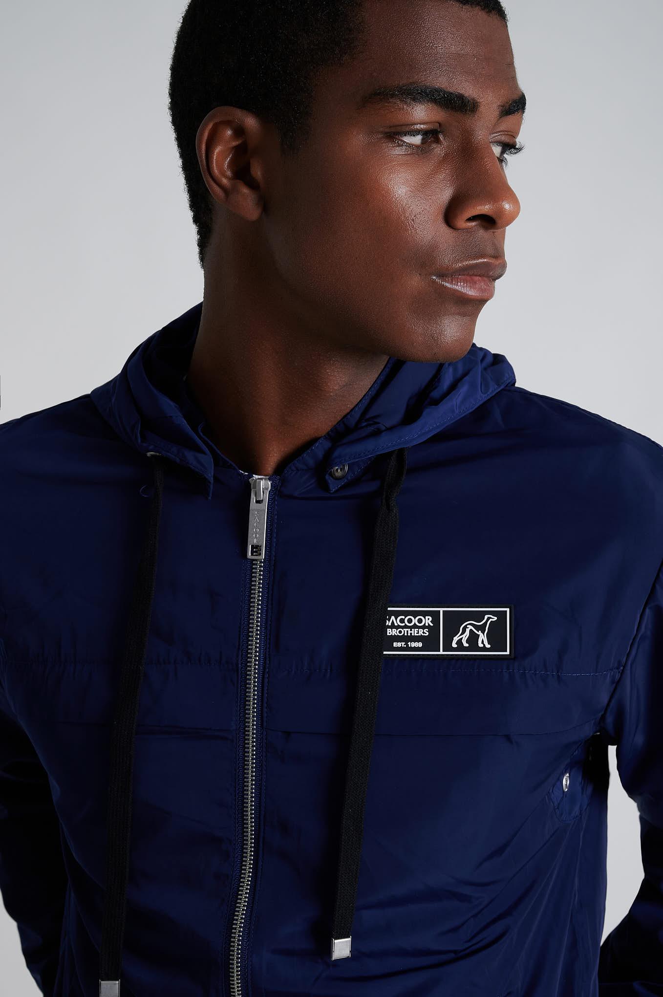 Jacket Blue Casual Man