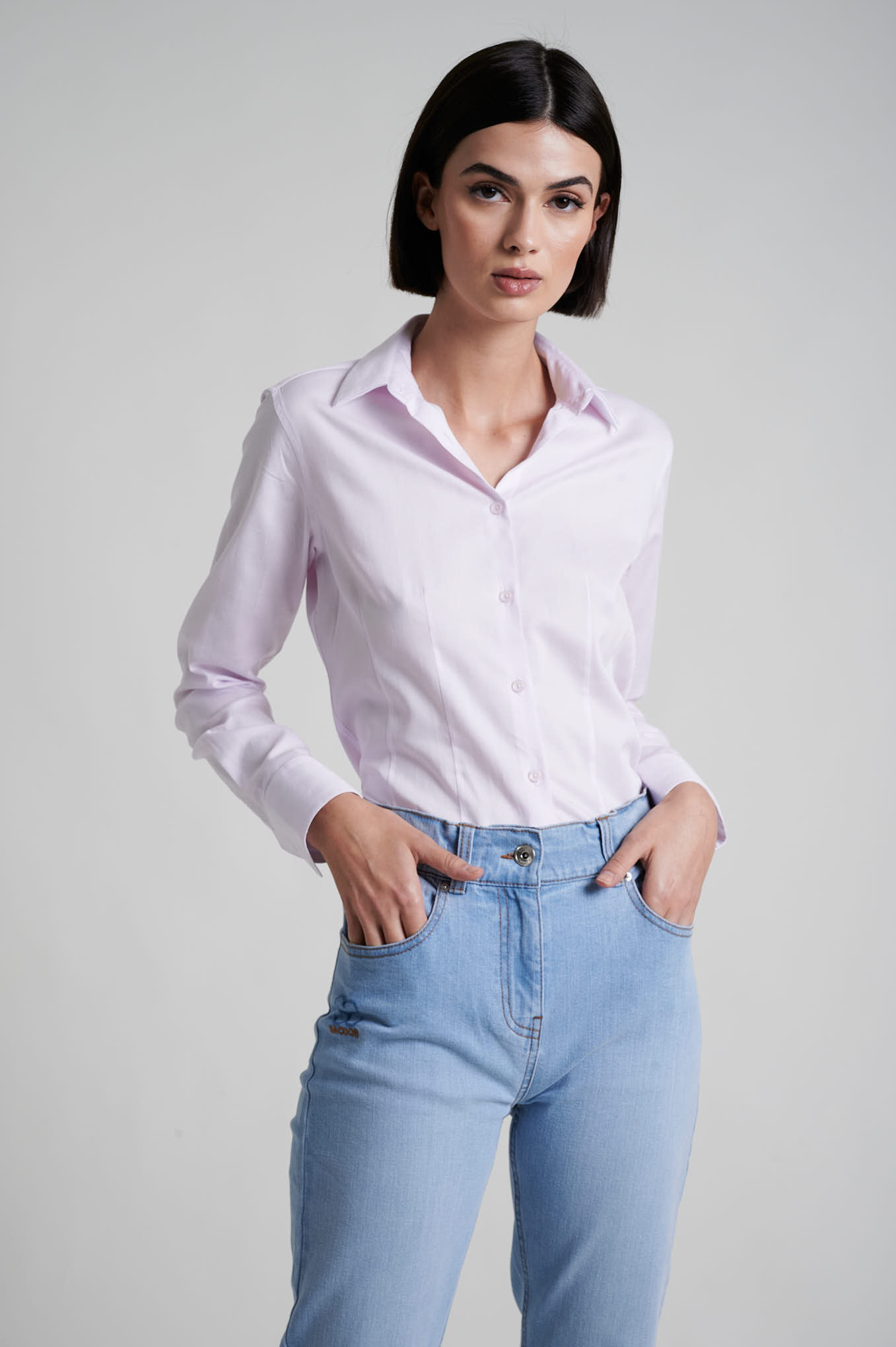 Shirt Pink Formal Woman