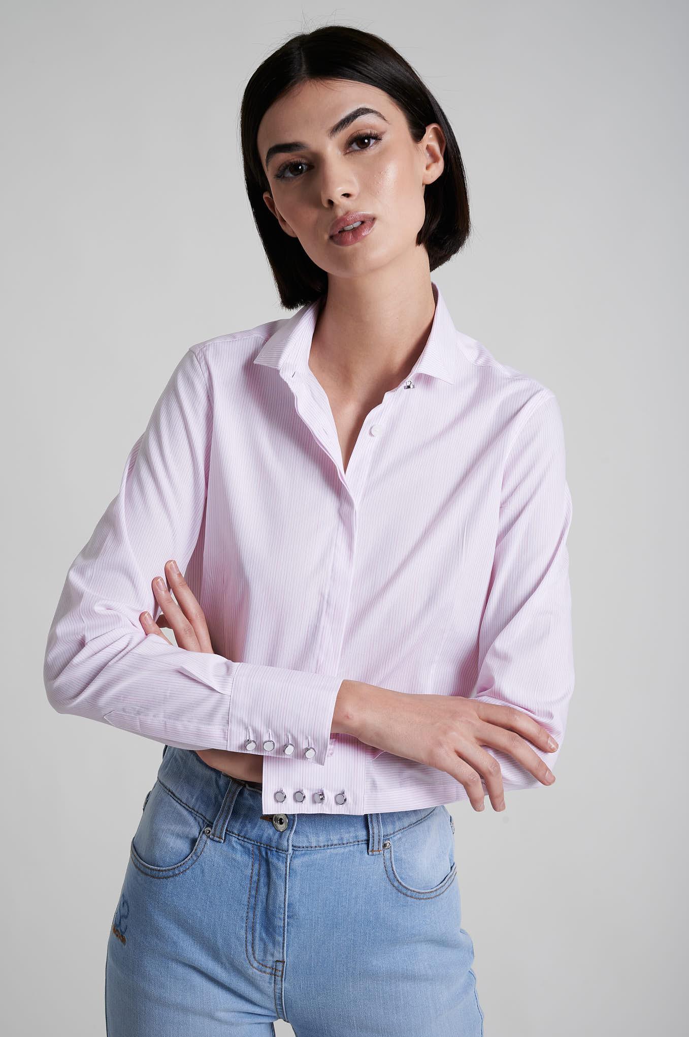 Shirt Salmon Formal Woman