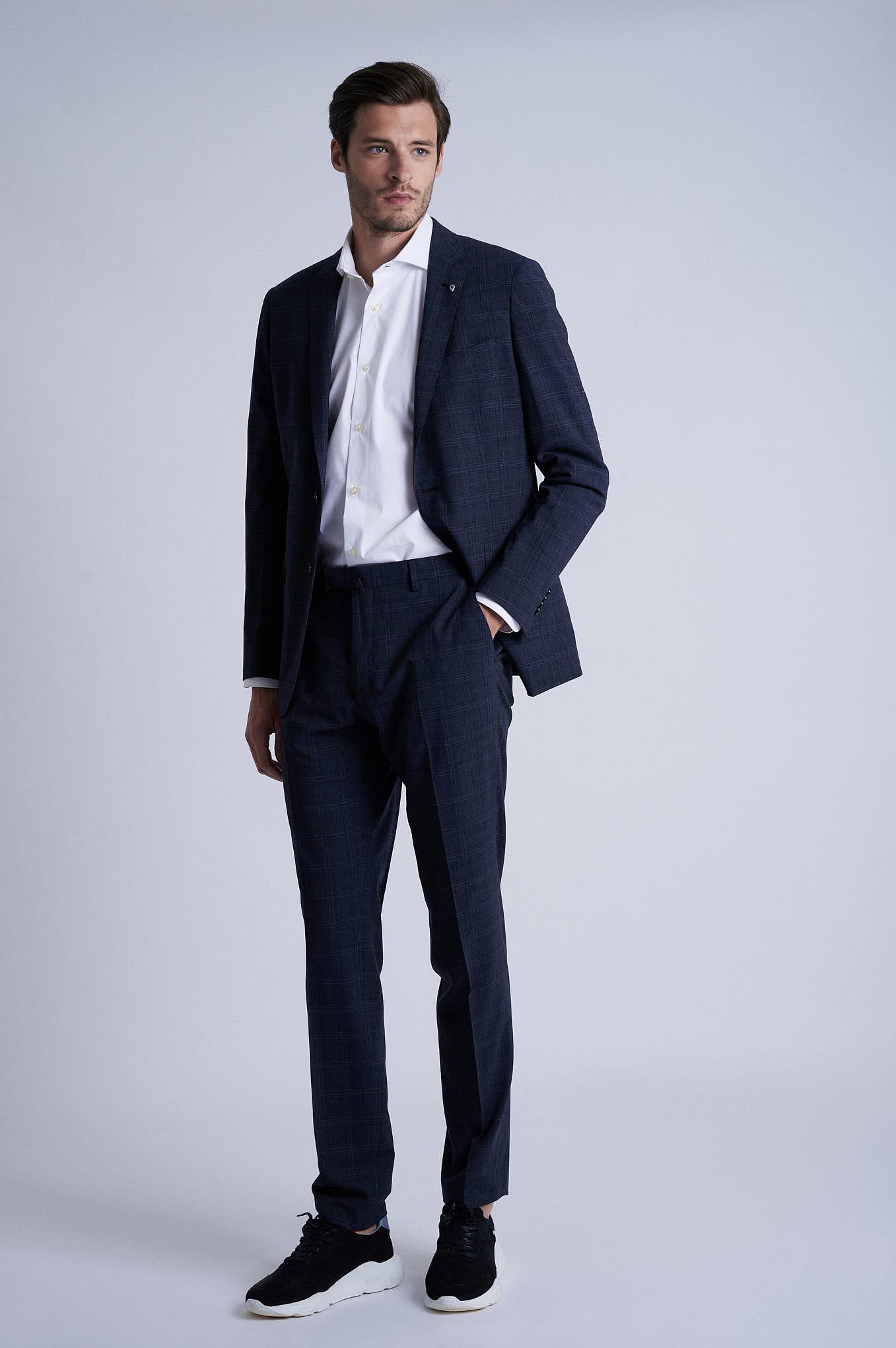 Suit Dark Grey Formal Man