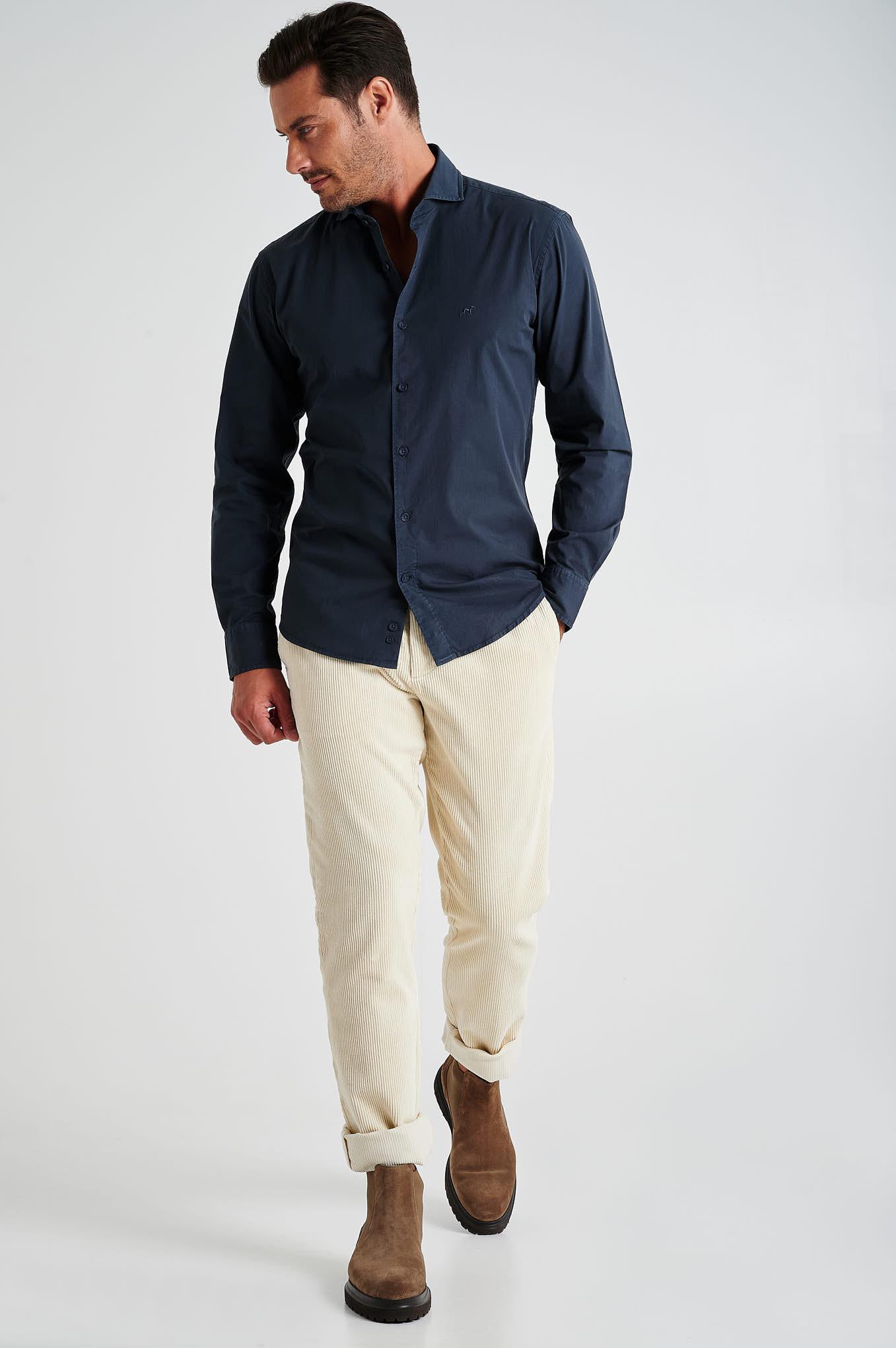 Chino Trousers Stone Sport Man